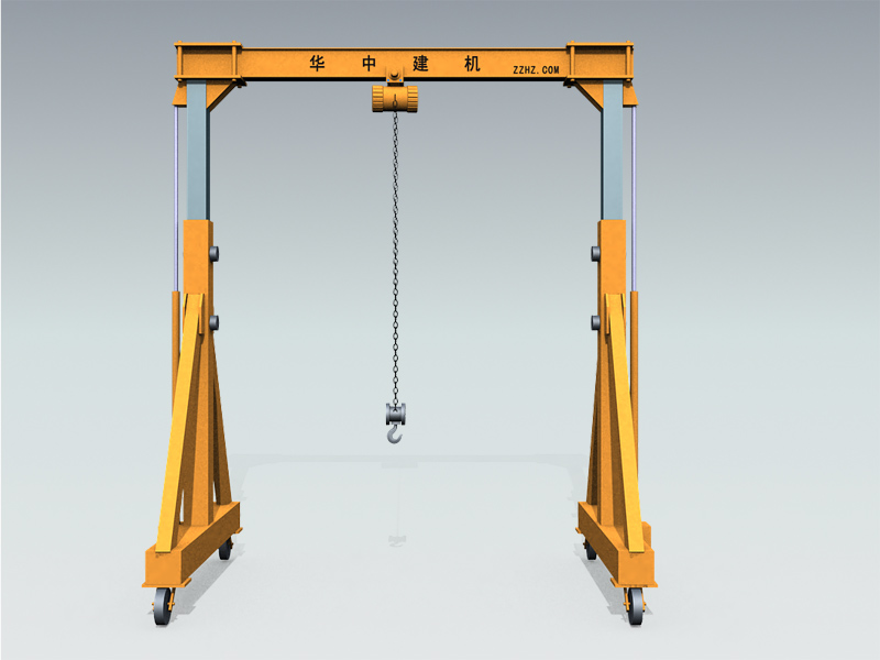 LHD Wheel Type Electric Hoist Crane