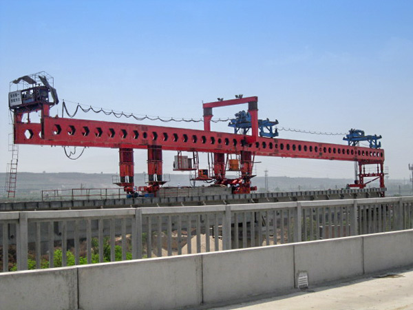 Bridge Girder Launcher for Highway and Railway