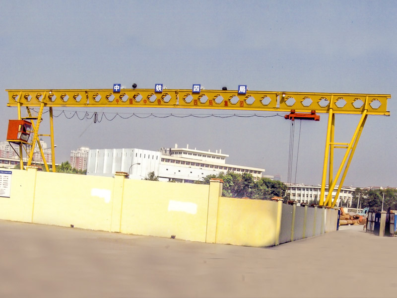 MH electric Single Girder Gantry Crane