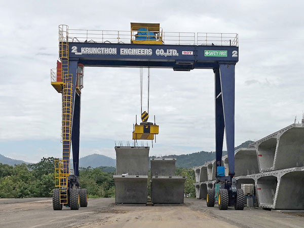 LTD Tyred Gantry Crane