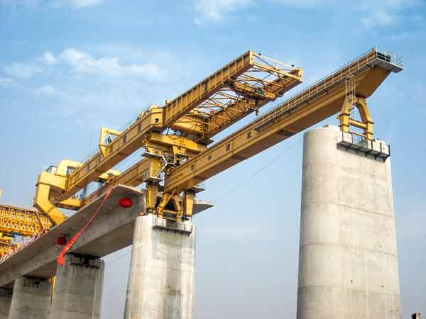 Bridge Girder Erection Machine for High Speed Railway